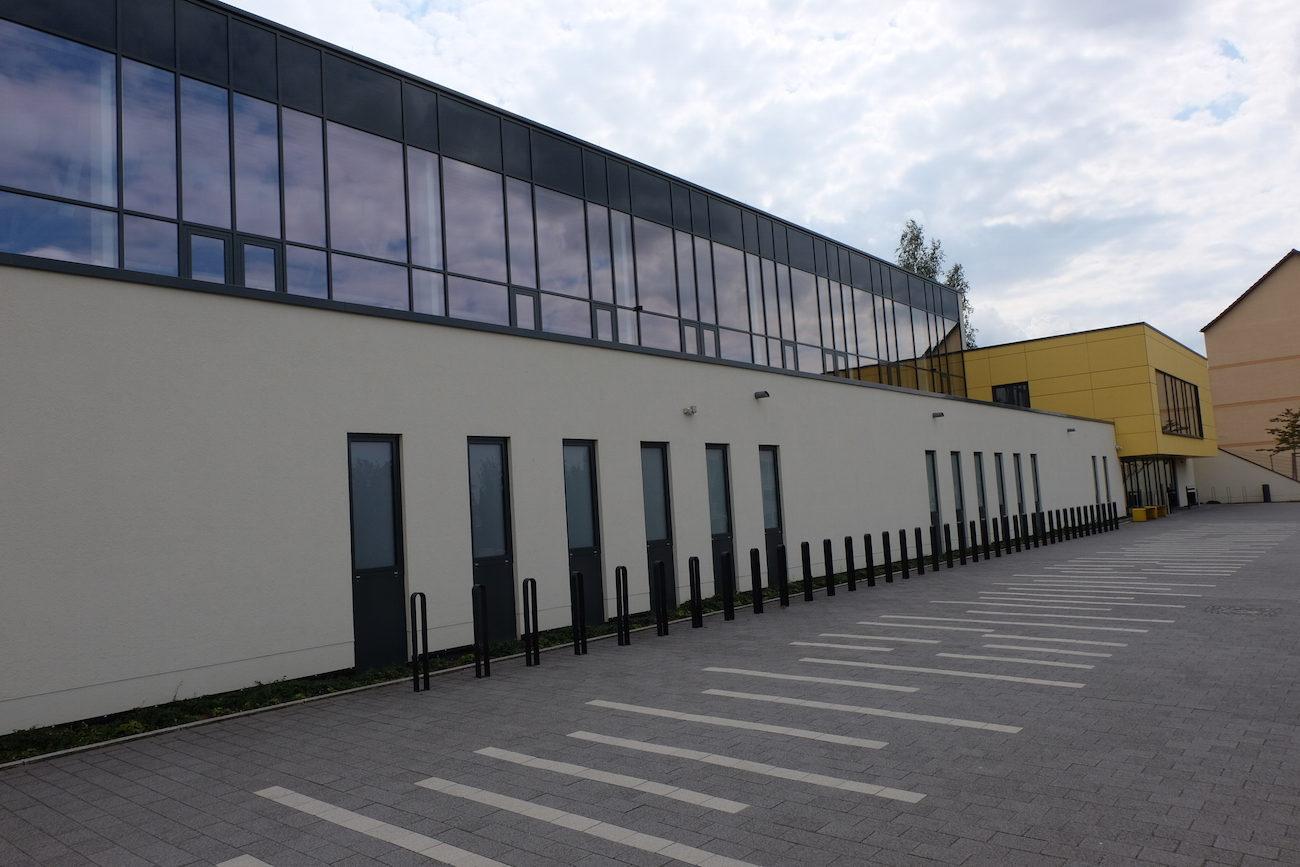 Fot vom Neubau der Turnhalle Großröhrsdorf