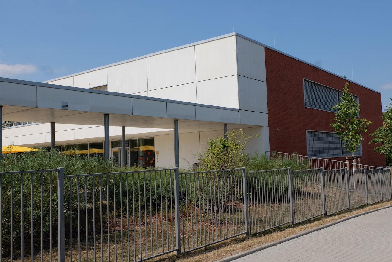 Foto vom Neubau der 76. Grundschule Dresden