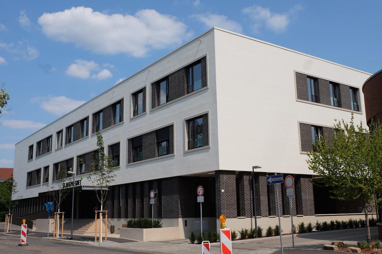 Foto vom Neubau für St. Josephstift Dresden
