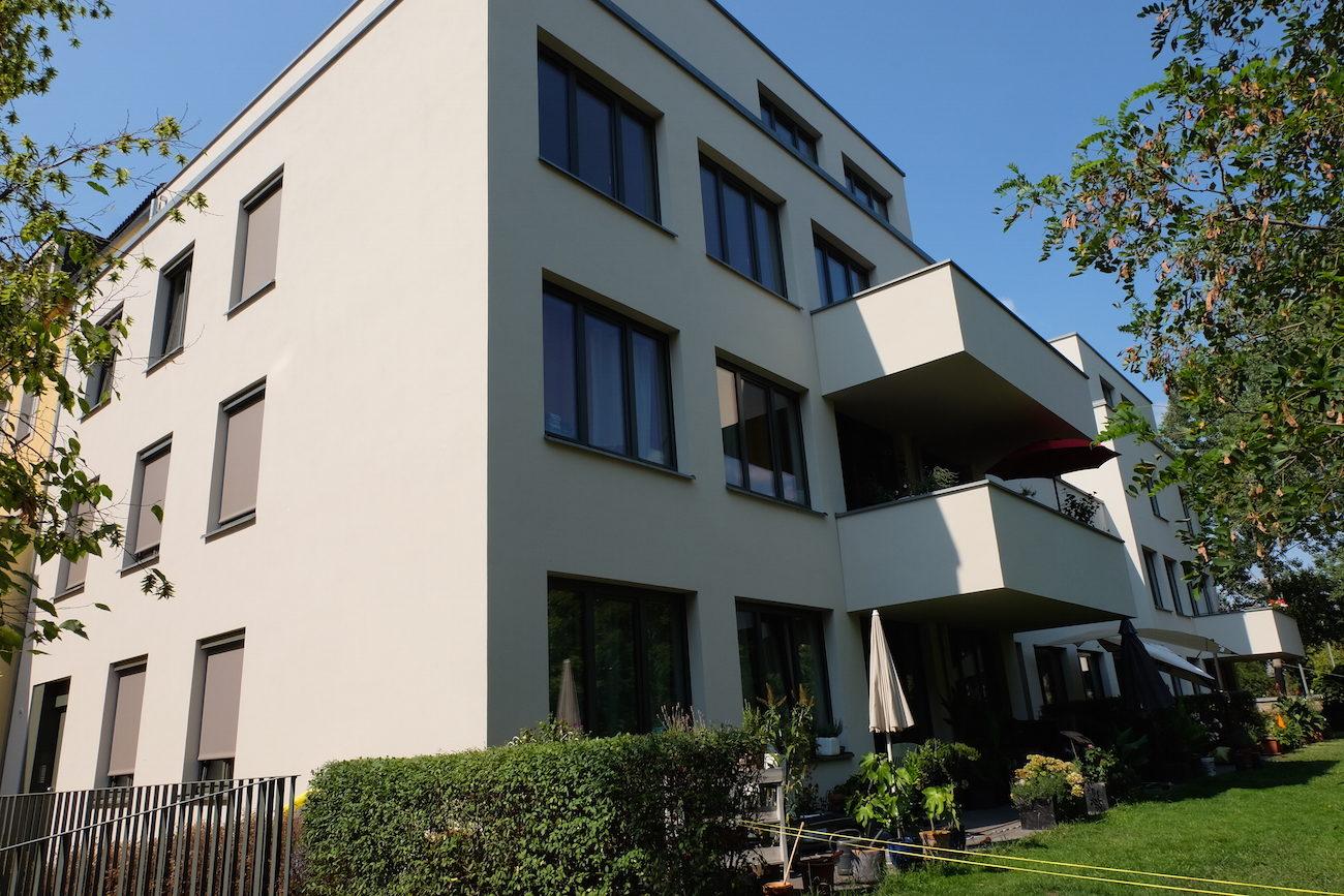 Foto vom Neubau Wohnhaus Dresden